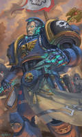WH40K: Librarian by jeffszhang