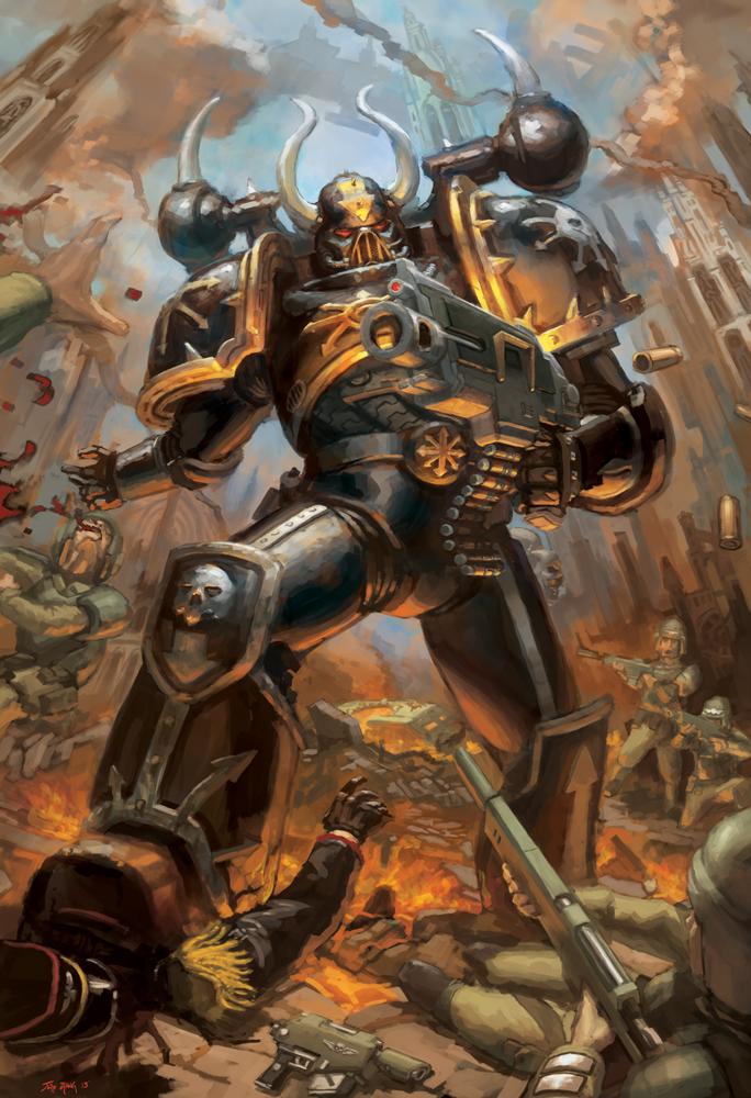 WH40K: Chaos Marine