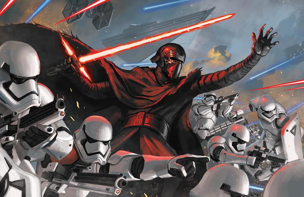 Silver First Order Stormtrooper Wallpaper
