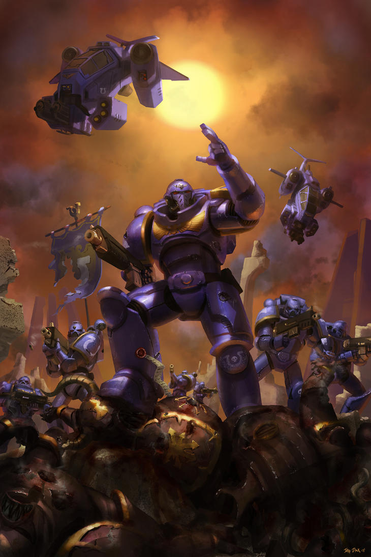 WH40K: Primaris by jeffszhang