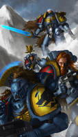 WH40K: Sons of Fenris by jeffszhang