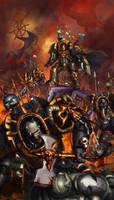 WH40K: Chaos Terminators by jeffszhang