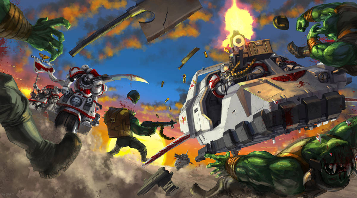 WH40K: Furious Road by jeffszhang