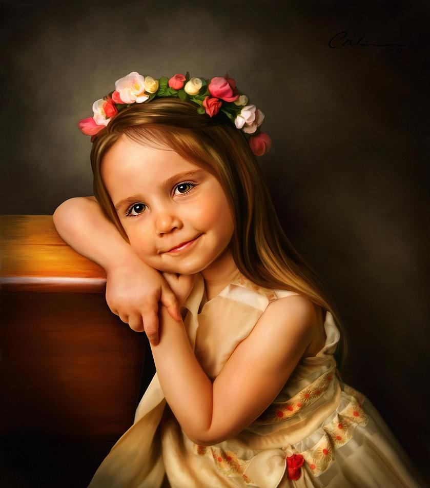Digital Portrait Painting by 0dwin on DeviantArt