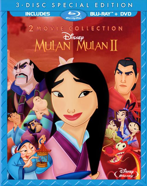Cover Mulan and Mulan 2 Blu Ray Fanmade by JimsTreasure on ...