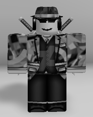 Roblox Black Sparkle Time Fedora Look By Fockwulf190 On Deviantart