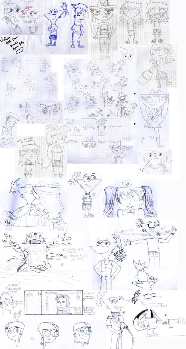 Sketchdump 2013-2014 by Juli4427