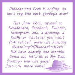 PnF - #LastDayOfPhineasAndFerb