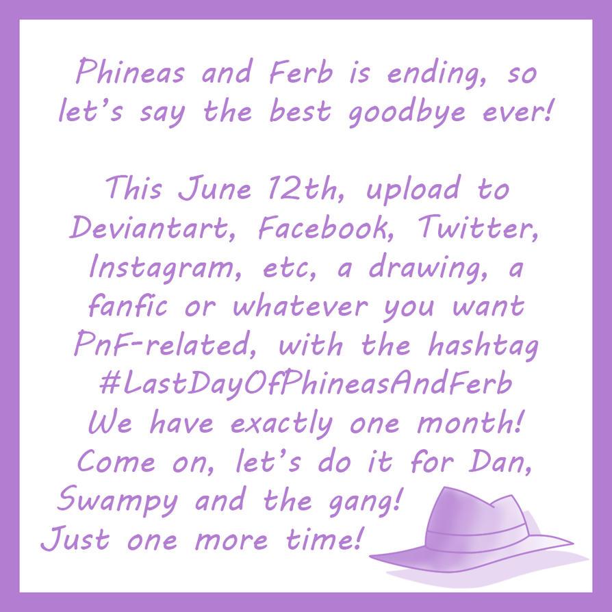 PnF - #LastDayOfPhineasAndFerb by Juli4427