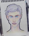Icy stare - Random Portrait#1
