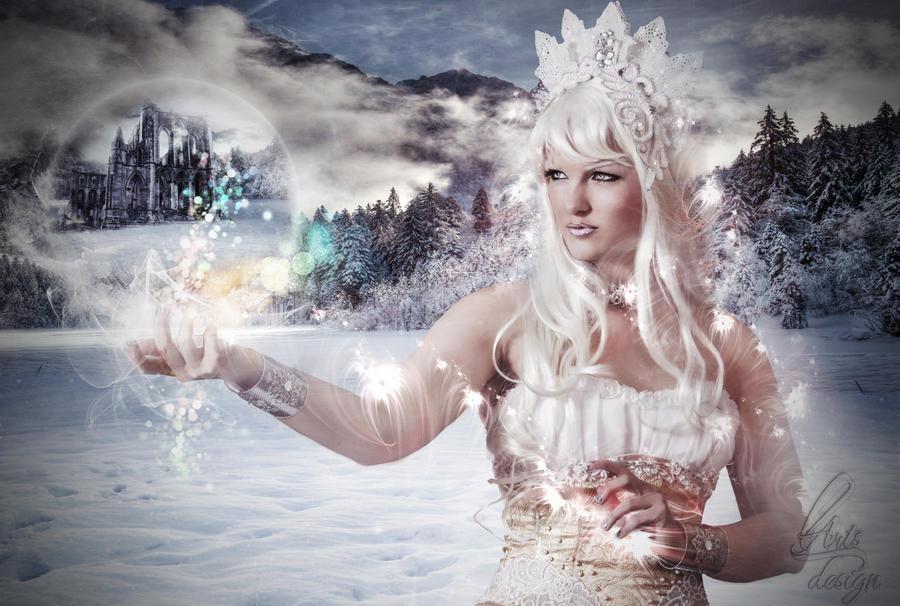 Winter magic by llinute