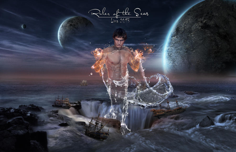 Poseidon - Ruler of the Seas by llinute