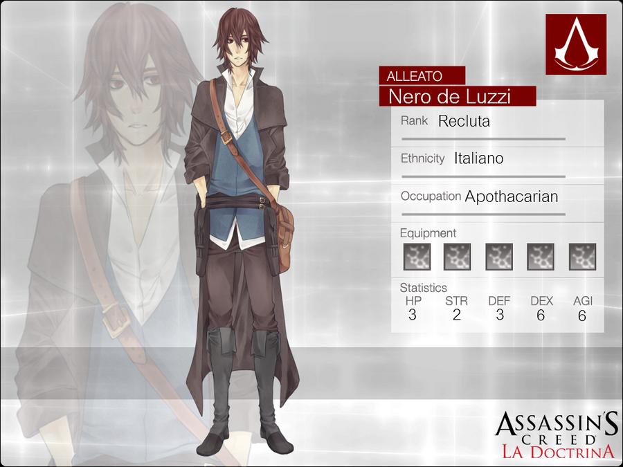AC-D: Nero de Luzzi by noizi