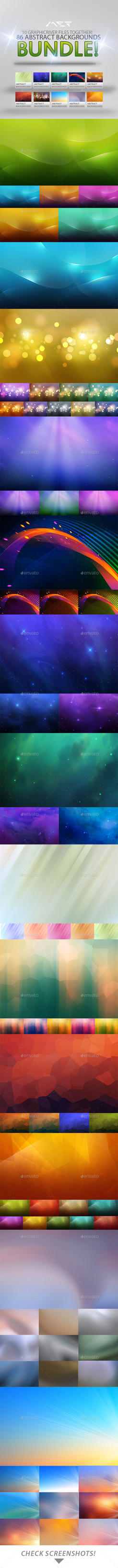 86 Abstract Backgrounds Bundle by M3-f-web