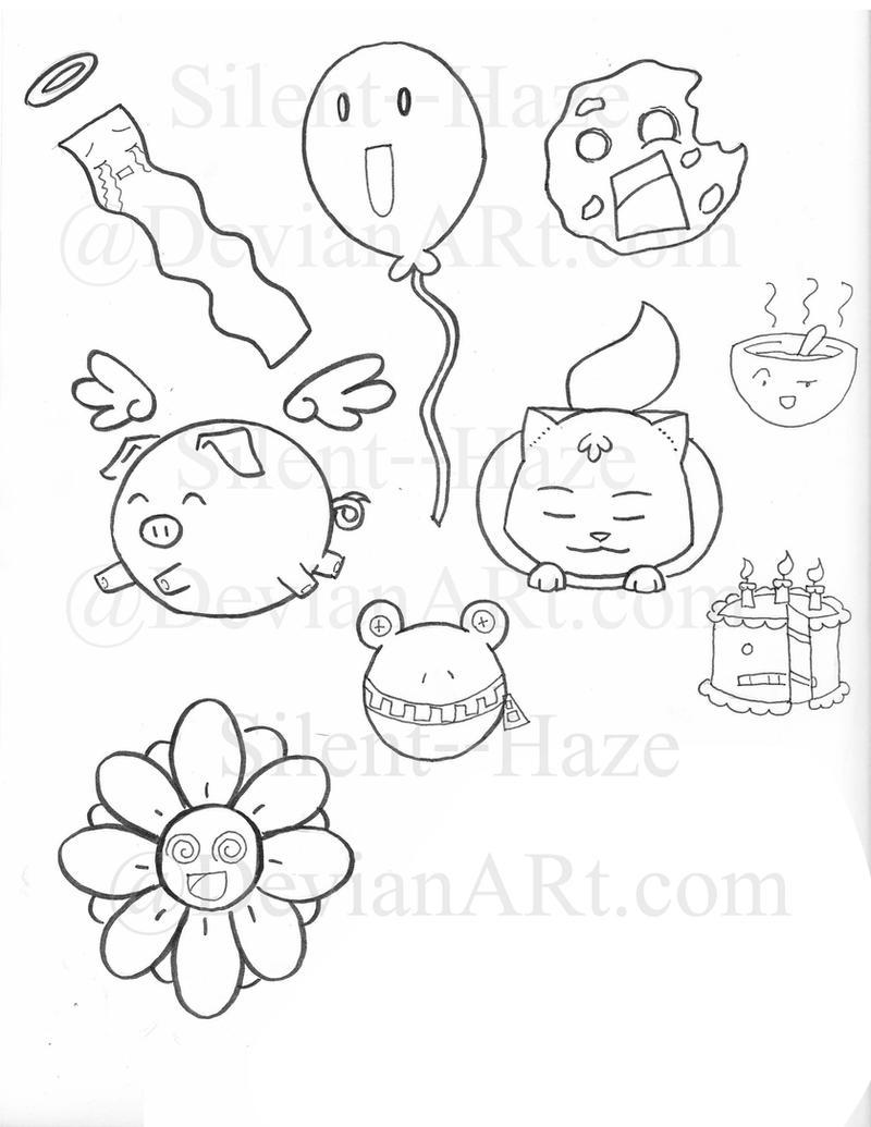 Random cute things by silent haze on deviantart for Random cute drawings