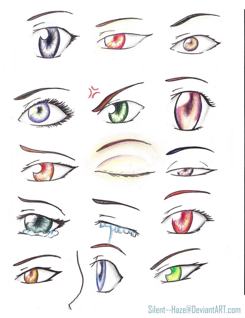 anime eyes by Silent--Haze on DeviantArt