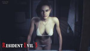 Resident Evil 3 Jill Valentine in Bikini.