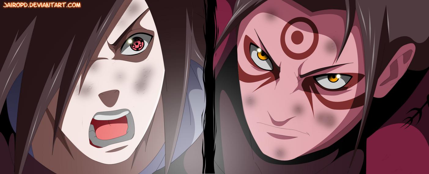 Madara uchiha vs hashirama senju by JAIROPD on DeviantArt
