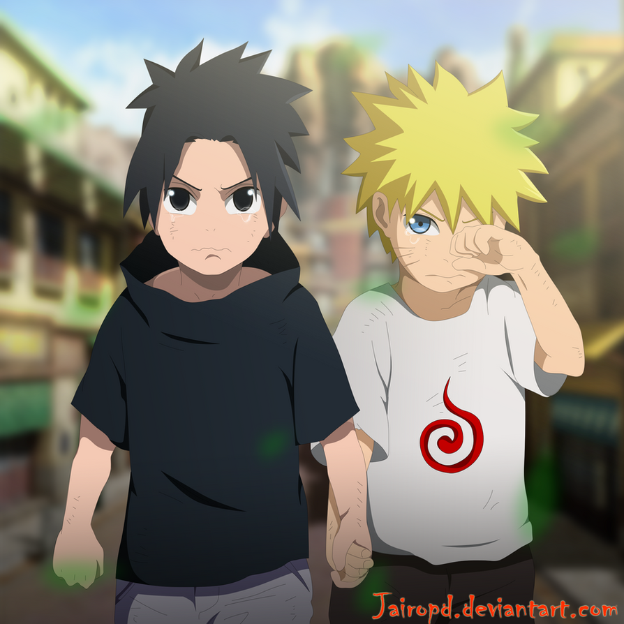 Naruto y Sasuke ( Friends Brothers ) by JAIROPD