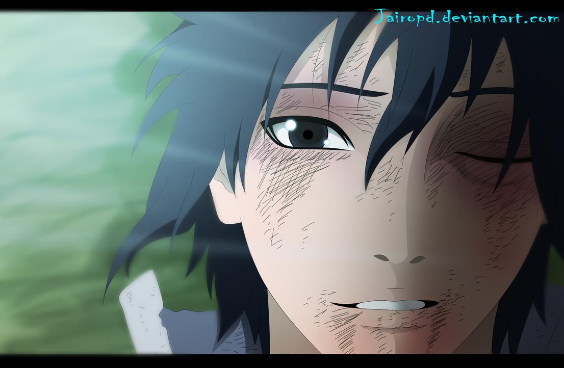 Sasuke Uchiha ( Manga 698 ) by JAIROPD