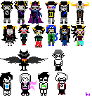 homestuck sprites complete by uglydolly
