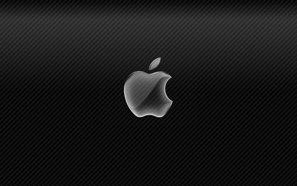Carbon Fiber W Apple Logo By Jasonh1234 On DeviantArt