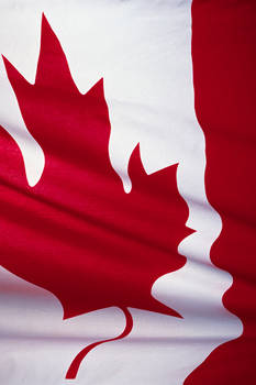 Canadian Flag iPhone Wallpaper