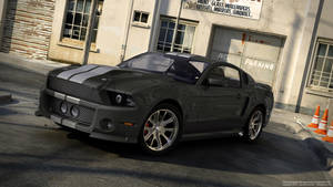 2010 Mustang Custom in Black