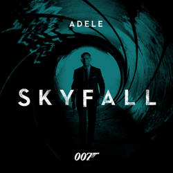 Adele Skyfall Custom Album Art by jasonh1234