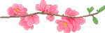 F2U | Flower Branch Divider - Right by ProfileDecor