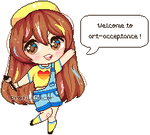 Art-Acceptance Mascot | NF2U by ProfileDecor