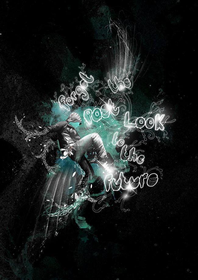 Digital Art created by Craig Shields - Abduzeedo Graphic Design Inspiration
