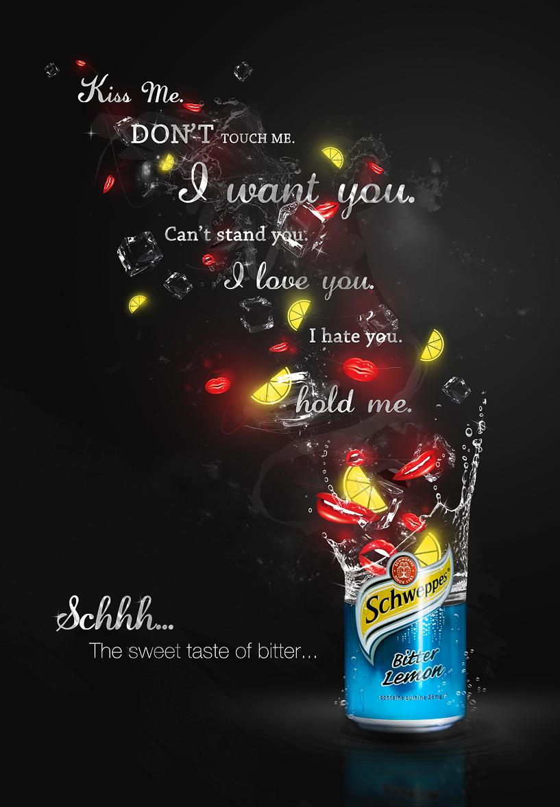 'Schhh' - Schweppes by d4m