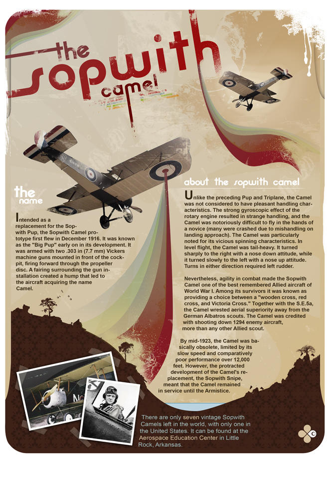 Sopwith Camel - Airfield Proj by d4m