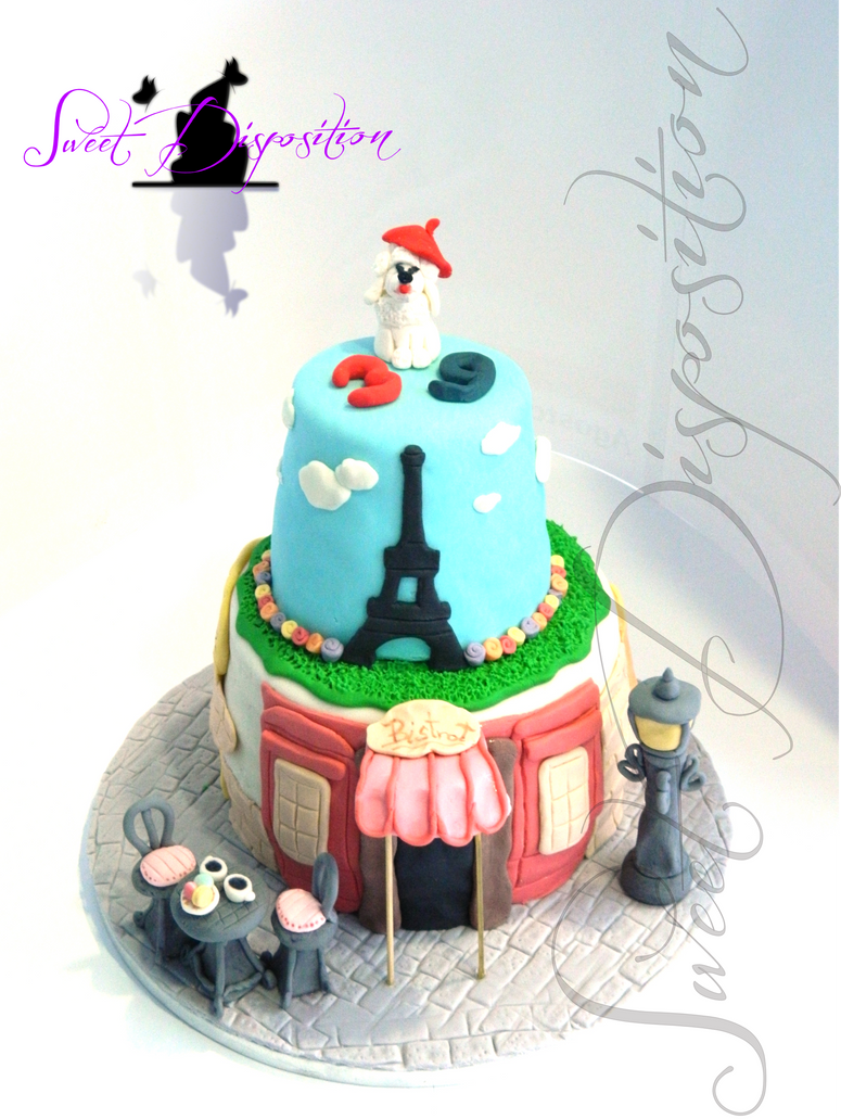 Paris Cake by sweetdisposition14