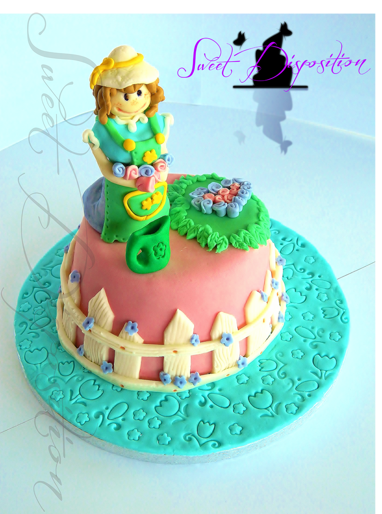 Gardener Cake by sweetdisposition14