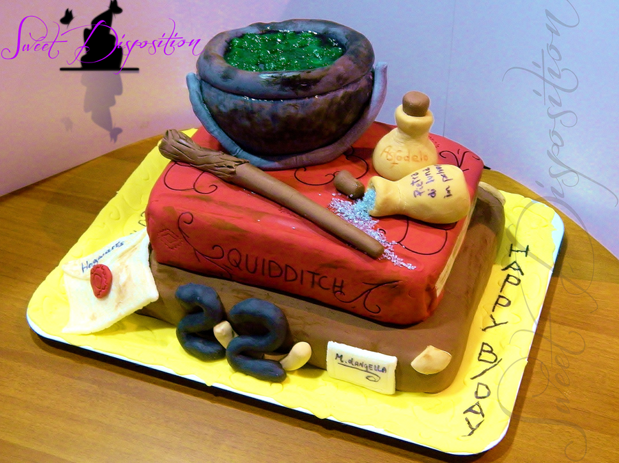 Harry Potter S Cake By Sweetdisposition14