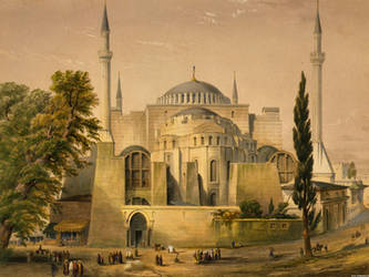 Hagia Sofia by w1haaa