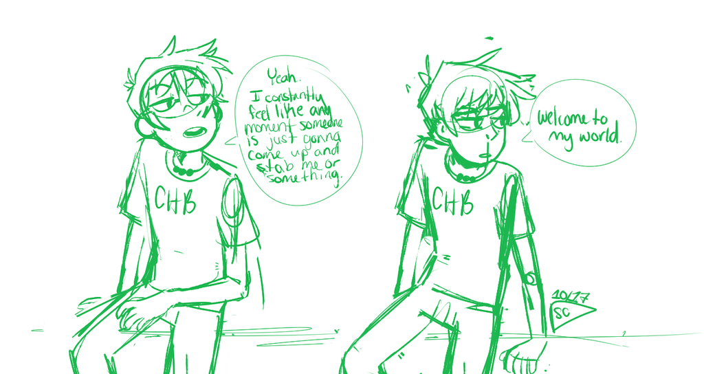 Percy And His Constant Feeling That Someones Going by dessyxwessy
