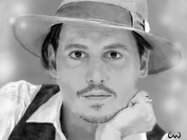 Johnny Depp by ConnieUitsu