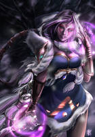 DOTA 2 - Templar Assassin by reikakukoto