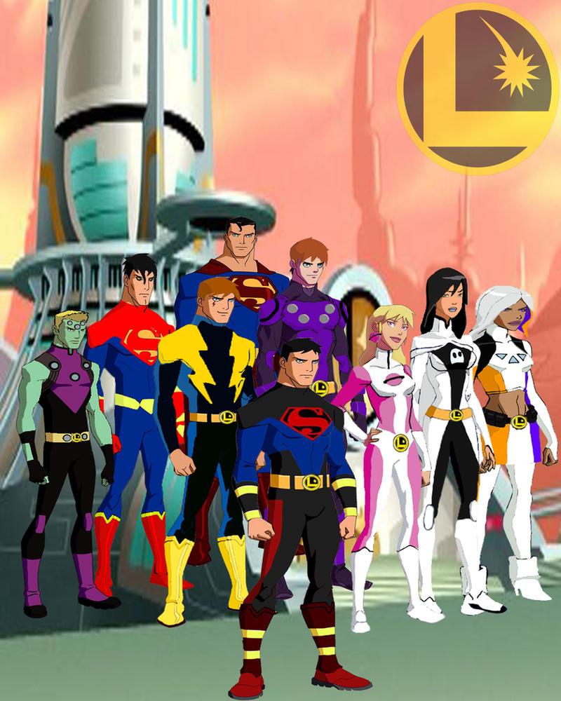 Legion of Superheroes Members Legion of Superheroes yj Style