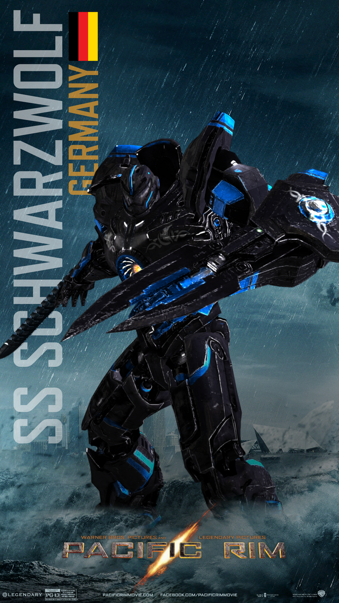 SS Schwarzwolf - Pacific Rim by Lord-of-flyingfoods on ... Pacific Rim Jaeger Names