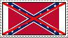 Anti-Confederate flag stamp