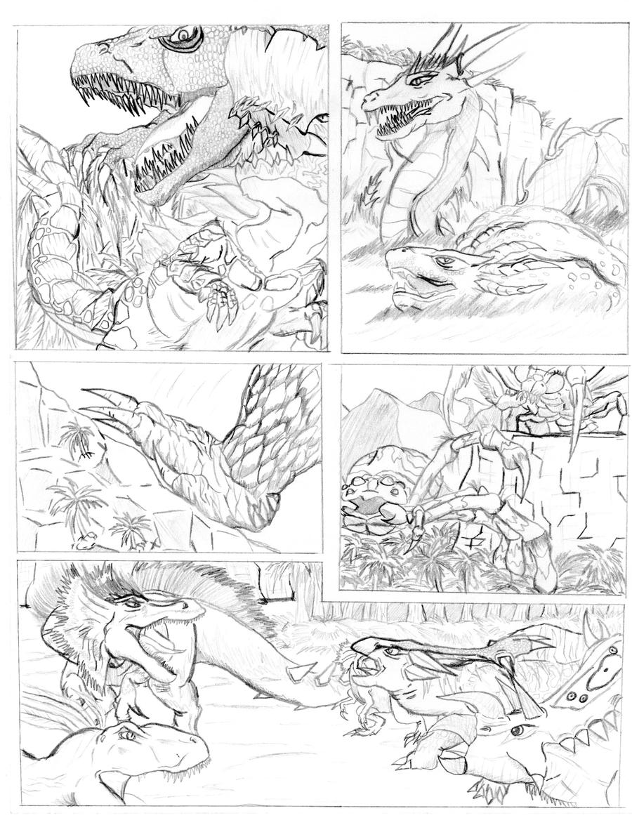Peace on Monster Island #2 by PrimalbeastT-rex