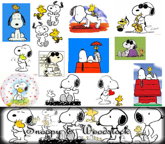 Snoopy and Woodstock Wallpaper by koori-sama