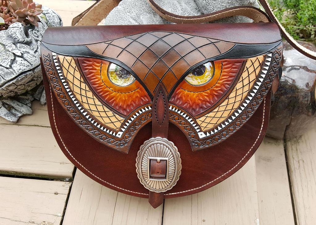 Owl bag by Flicker-Fire
