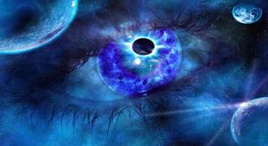 Eye in Space by H3llzAng3l