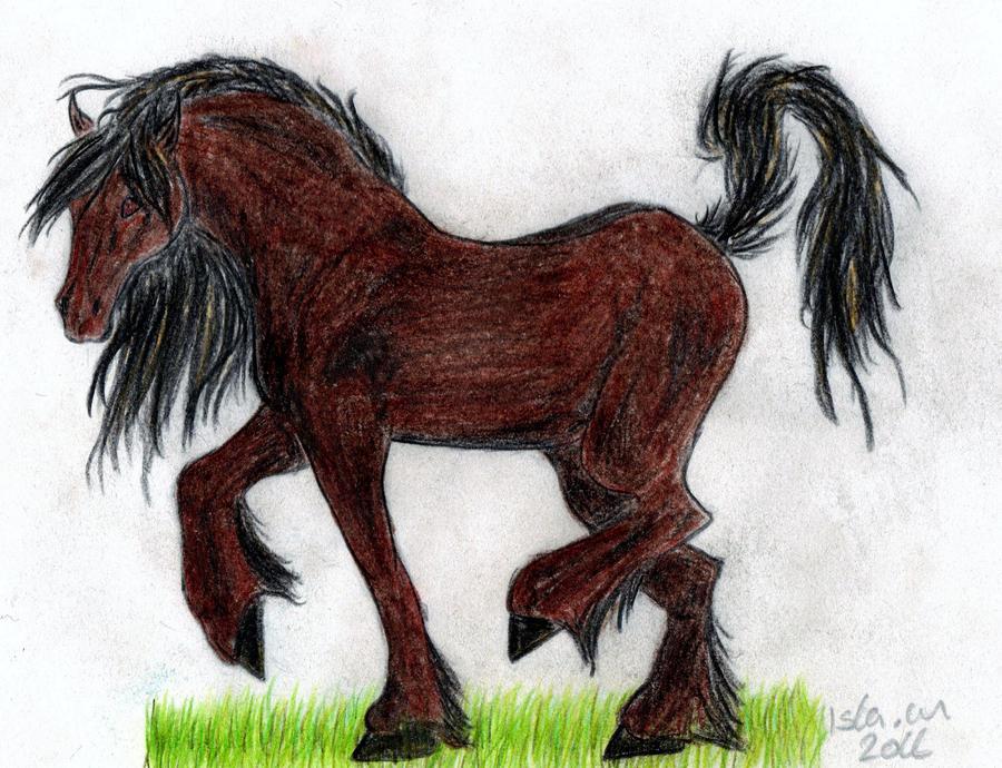 Horse by H3llzAng3l