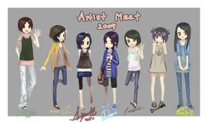 Artist Meet 2009 by cos22